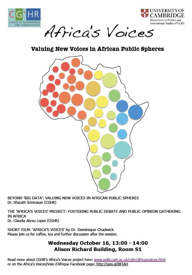AV Seminar Poster