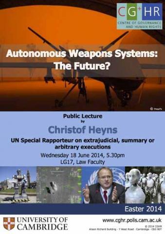 Heyns Public Lecture Event poster (rev)