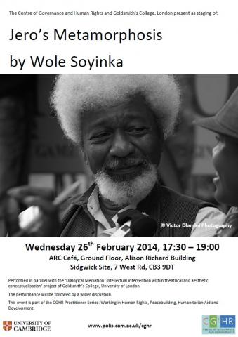 Soyinka Poster