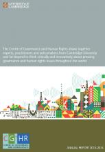 2013-14 Annual Report cover