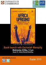 Africa Uprising poster