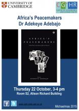 Africa's Peacemakers poster