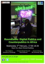 Digital publics and counterpublics in Africa