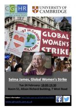 Selma James poster