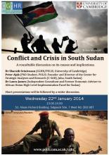 South Sudan Roundtable Poster
